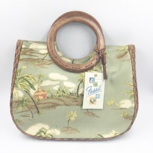 FOSSIL SATCHEL PURSE